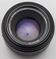 Minolta Maxxum AF 50mm 50 mm Lens 1.7 1:1.7 (22) - Dynax AF / Sony A