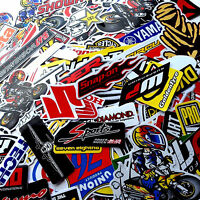 70 Mixed Random Stickers Decal Motocross Motorcycle Car ATV Racing Bike Helmet