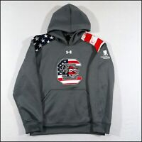 Under Armour x South Carolina Gamecocks Hoodie | Small | Grey | Rare
