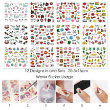 Cute Cat Lips Nail Sticker Nail Art Decoration Nail Wraps Water Transfer Decals