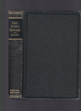 Radio Antenna Engineering, by Edmund A. Laport, 1952 1st edition hardcover no dj