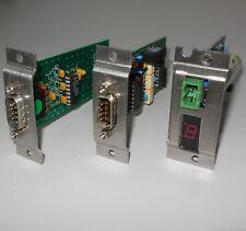 Serad COM232I rev 7.31 & STATUS rev 1.12 & COM rev 6.30 PCB