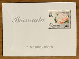Bermuda 575a MNH Old Garden Roses Booklet