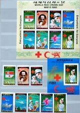 KOREA 1980 1976-83 U + Klb Block 71 U Welttag Rotes Kreuz Red Cross Dunant MNH