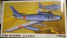 Hasegawa 1/32 F86F40 Sabre Jet Fighter model Kit 8860