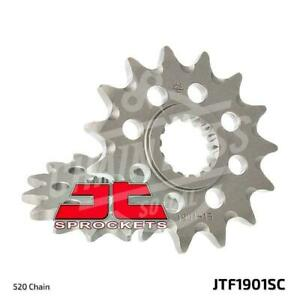 JT Sprockets 520 Front Sprocket Self Cleaning Steel 13T Natural JTF1901.13SC