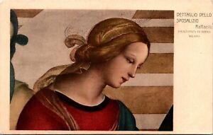 Dettaglio Dello Sposalizio Raffaello Milano Italy Postcard