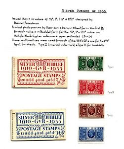 GB (EN1) 1935 JUBILEE COLLECTION EXHIBITION  15 PAGES 2 FULL BOOKLETS  SEE BELOW