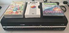 Toshiba DVR17KTB DVD & VHS Recorder Copy VHS to DVD D-VR17 Tested & Working