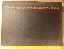 Vintage 1968 Itpa - Illinois Test Of Psycholinguistic Abilities Testing Kit