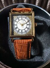 Lovely Tavistock placcato in oro e JONES BIG Ben Faccia Orologio da polso
