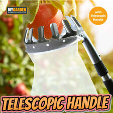 More details for deluxe lightweight telescopic extending apple & fruit picker twist-lock tree