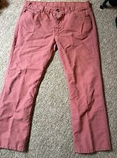7 for all mankind / Red Jeans / Light Weight / 36/30