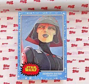 Star Wars Topps Living Set   Seventh Sister   Print Run 1586   Card #182
