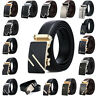 Luxury Men Metal Automatic Buckle For Leather Ratchet Belt Strap Waistband Waist