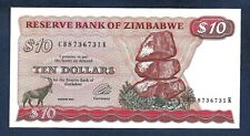 (DN) Zimbabwe $10 Dollars 1994 P-3e SC- UNC-