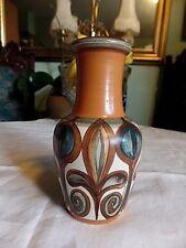 Retro Hand Made Langley Pottery Vase Soraya Glyn College 1970s English