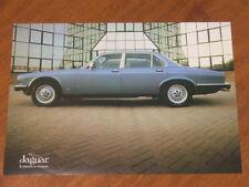 1984 Jaguar Sovereign 4.2 original Australian market single page brochure