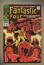 Fantastic Four #81 - Crystal Joins and Dons Costume - 1968 (Grade 7.0) WH