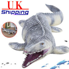 45cm Realistic Mosasaurus Dinosaur Animal Model Figure Kids Toy or Festival Gift