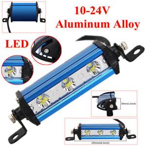 Ultra Thin Single Row LED Spot Work Light Bar Spotlight Off-Road Dustproof Alloy