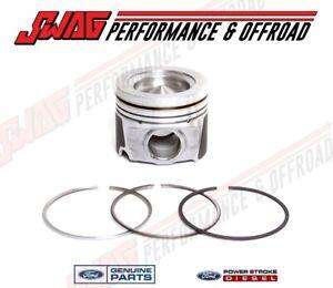 04.5-10 Ford 6.0 6.0L Powerstroke Diesel OEM Genuine Ford Standard Piston Kit