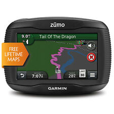 "Garmin Zumo 390LM 4.3"" Motorcycle GPS with Lifetime Map Updates New"