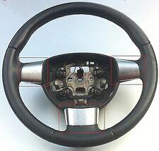 Radio del volante Ford Focus MK2 Kit De Molduras-efecto Cromo Cepillado Plata