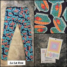 NEW Tall and Curvy * LULAROE * Women's Athletic Pants Leggings - Fish Bowl