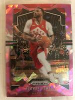 Norman Powell 2019-20 Panini Prizm Pink Cracked Ice Prizms Insert SP