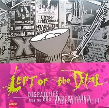 Left Of The Dial / John Seabury Prints / PROMO / Rhino / The Cure / Sex Pistols