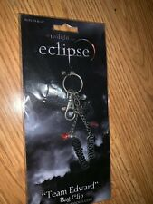 "The Twilight Eclipse Keyring/Bag Clip ""Team Edward"" Neca / NEW IN PACKAGE RARE!"