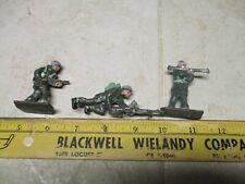 VTG Lot Green Army Men US Lone Star Harvey Series Britain 54mm Soldier Figure