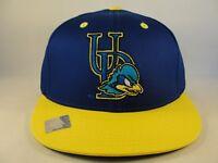 Delaware Blue Hens NCAA Snapback Hat Cap Blue Yellow