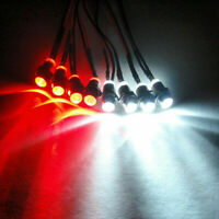 4PCS LED Scheinwerfer für Tamiya Holiday Buggy Monster Beetle Blitzer Stadium
