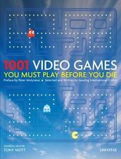 1001 Video Games You Must Play Before You Die (2010, Hardcover)