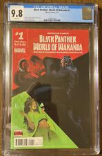 BLACK PANTHER WORLD OF WAKANDA #1 CGC 9.8 VARIANT COVER Martinez Richardson