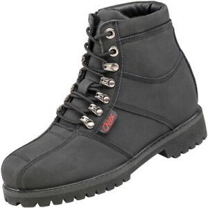 Joe Rocket Rebellion Ladie's Women's Leather Riding Boots (Black, X-Large) 8
