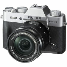 Fujifilm X-T20 Silber + XC 16-50mm F/3.5-5.6 OIS II Zoom Lens Kit 16-50 f3,5-5,6