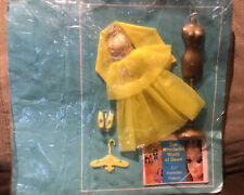 Topper Dawn Doll Clothes New On Card Gold Glow Swirl Excellent