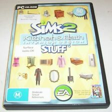 The Sims 2 Kitchen & Bath Interior Design Stuff Pack CD set for PC