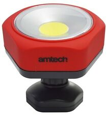 Amtech 3w Cob LED Swivel Base Worklight Torch Super Bright Light PortableCamping