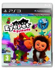 NEW Eyepet & Friends - Move Required PS3 New And Sealed