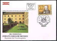 Austria 1984. FDC. Johann Mendel. Science.