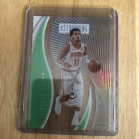 Trae Young 2019-20 Panini Illusions #20 Astounding Green Acetate Emerald SP