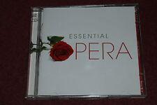 "VARIOUS ""ESSENTIAL OPERA"" 2x CD SET +20 PAGE B/KLET READER'S DIGEST NR MINT RARE"