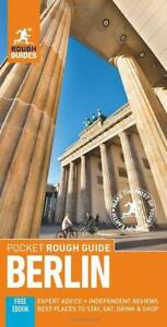 Pocket Rough Guide Berlin Germany Paperback 2020 edition FREE SHIPPING