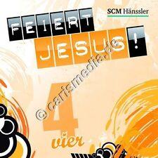 CD: FEIERT JESUS! 4 (Relaunch) - Lobpreis - Anbetung *NEU* °CM°