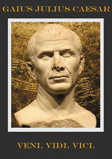 Julius Caesar Veni Vidi Vici art print