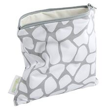 Woombie B-Green Snack Bags (Metal Gray, One Size)